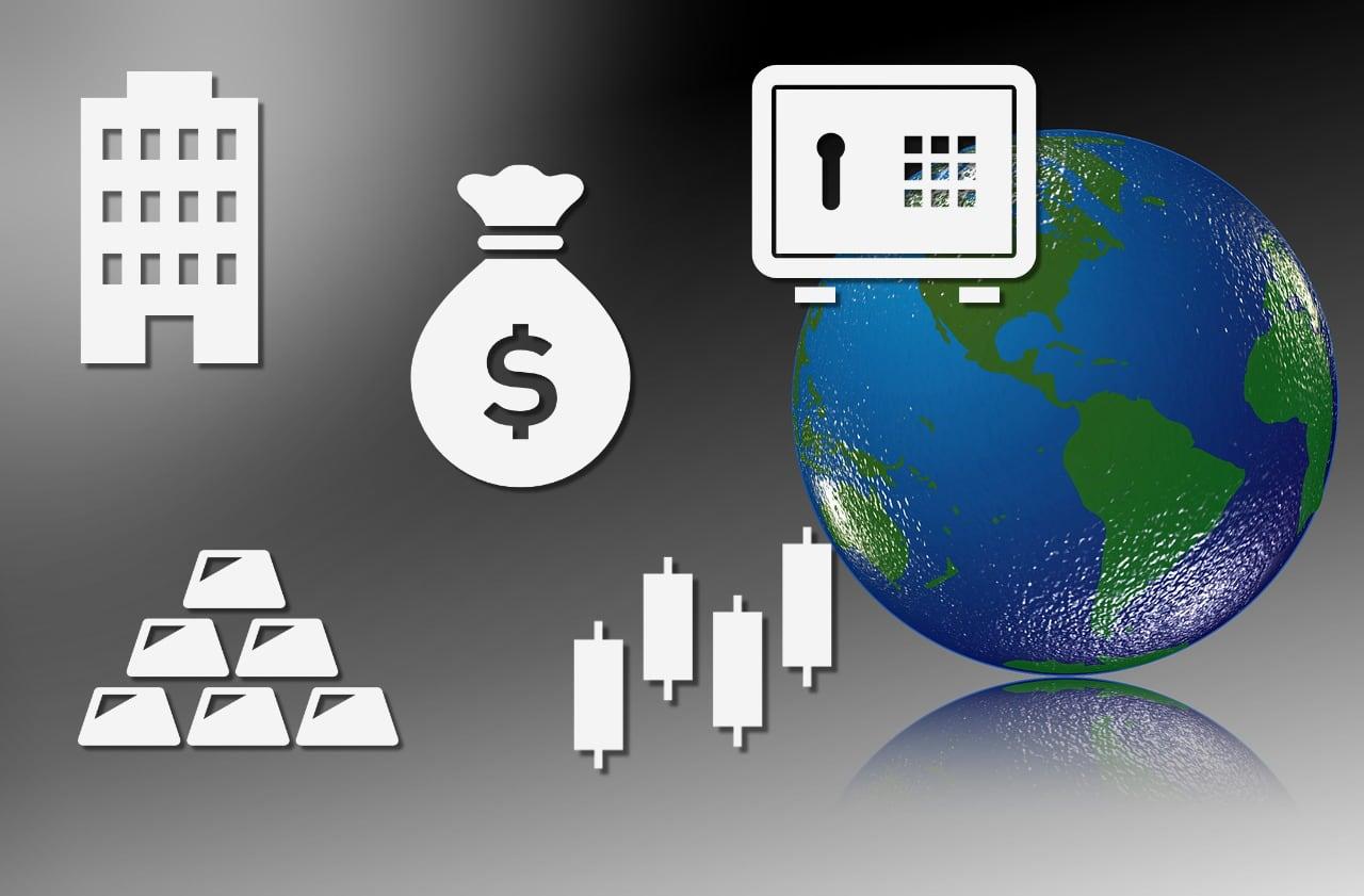 国際資産のイメージ